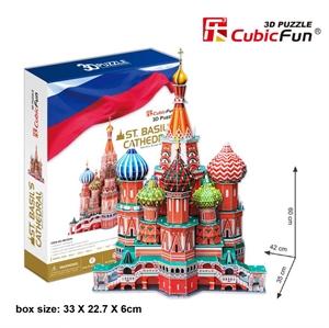 Hình ảnh của Quảng trường đỏ-Vasile Assumption Cathedral - Nga (MC093h)