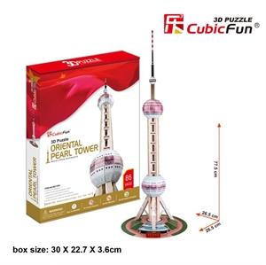 Hình ảnh của Oriental Pearl Tower-Tháp TV Ngọc trai phương đông (MC105h)