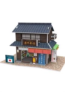 Hình ảnh của Bộ nhà truyền thống Nhật Bản - Confectionery shop - W3101