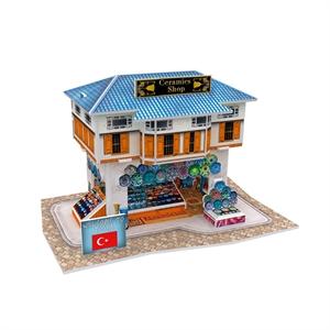 Hình ảnh của Bộ nhà truyền thống Thổ Nhĩ Kỳ - Ceramics Shop -W3111h