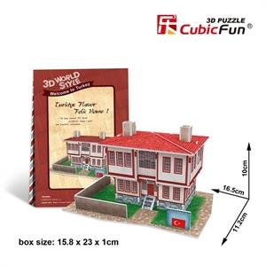 Hình ảnh của Bộ nhà truyền thống Thổ Nhĩ Kỳ - Flavor Folk House 1 -W3109h