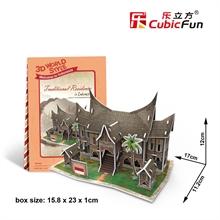 Hình ảnh của Bộ nhà truyền thống Indonesia - Traditional Residence - W3145