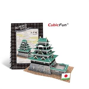 Hình ảnh của Kiến trúc Đền truyền thống Nhật Bản - Edo Castle - W3151h