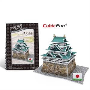 Hình ảnh của Kiến trúc Đền truyền thống Nhật Bản - Nagota Castle - W3152h