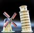 Hình ảnh của Mô hình mini các kiến trúc nổi tiếng thế giới 04 (C102h)