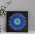 Hình ảnh của Tranh Vòng tròn xanh 30 x 30 cm