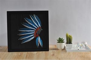 Hình ảnh của Tranh Lông chim 30 x 30 cm