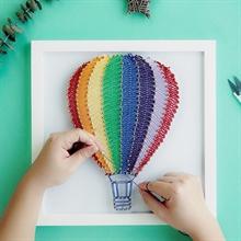 Hình ảnh của Tranh Khinh khí cầu 30 x 30 cm