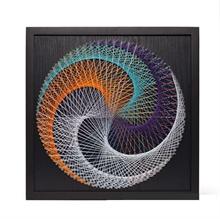 Hình ảnh của Tranh Vòng tròn xoáy 40 x 40 cm