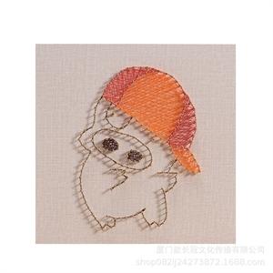 Hình ảnh của Tranh Heo con 30 x 30 cm