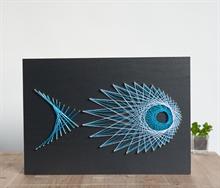 Hình ảnh của Tranh Cá xanh 30 x 42 cm