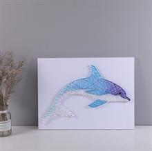 Hình ảnh của Tranh Cá heo 30 x 40 cm