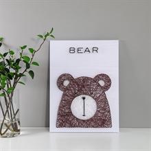Hình ảnh của Tranh Gấu cute 30 x 40 cm