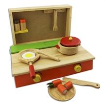 Hình ảnh của Đồ chơi gỗ Winwintoys - Bộ nấu ăn - 65032