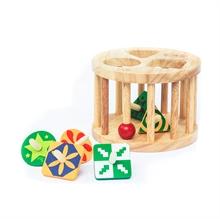 Hình ảnh của Đồ chơi gỗ Winwintoys - Lồng tròn 6 con vụ - 61022