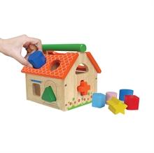 Hình ảnh của Đồ chơi gỗ Winwintoys - Nhà thả 12 khối - 68022