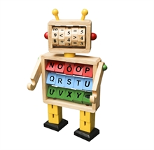 Hình ảnh của Đồ chơi gỗ Winwintoys - Robot học toán và chữ cái. - 61052