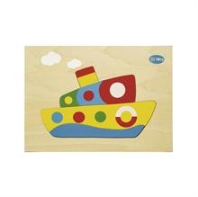 Hình ảnh của Đồ chơi gỗ Winwintoys - Ghép phương tiện giao thông - 69242