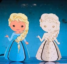 Hình ảnh của Bộ Tô màu gỗ - Công Chúa Disney Váy xòe TN018