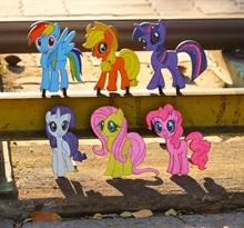 Hình ảnh của Bộ Tô màu gỗ - Ngựa Pony TN019