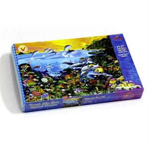 Hình ảnh của Tranh xếp hình EVA 35 mảnh- Hoàng Hôn Đảo Cá Heo 35-003