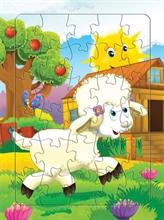 Hình ảnh của Tranh Xếp hình A4 (30 mảnh) - Chú Cừu Đáng Yêu 030-091