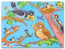 Hình ảnh của Tranh Xếp hình A4 (30 mảnh) - Bầy Chim 03-136