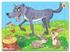 Hình ảnh của Tranh Xếp hình A4 (30 mảnh) - Sói và Thỏ 03-138