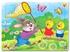 Hình ảnh của Tranh Xếp hình A4 (30 mảnh) - Thỏ và Gà Con 03-139