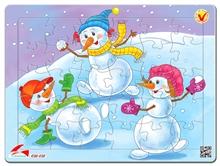 Hình ảnh của Tranh Xếp hình A4 (30 mảnh) - Merry Christmas 03-150