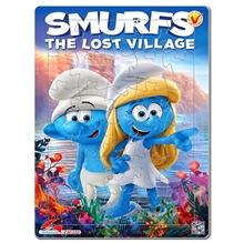 Hình ảnh của Tranh Xếp hình A4 (30 mảnh) - Smurfs - The Lost Village 03-155