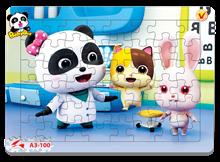Hình ảnh của Tranh Xếp hình A3 (48 mảnh) - Baby Bus 3 A3-100