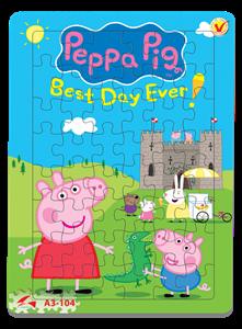 Hình ảnh của Tranh Xếp hình A3 (48 mảnh) - Peppa Pig A3-104