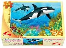 Hình ảnh của Tranh Xếp hình 63 mảnh - Bá Chủ Đại Dương 63-128