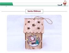 Hình ảnh của Ngôi nhà Noel bằng gỗ DIY có đèn LED - Santa Oldman